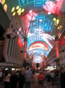 Fremont Street, downtown